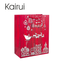 cardboard packaging wholesale christmas paper bag