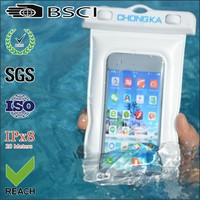 wholesale factory waterproof pvc mobile cell phone bags/waterproof mobile pvc phone bags