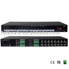 16 Port UTP Active Video Receiver Hub balun video passivo