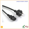 6 ft' Australia Power Cord AS 3112 Plug to IEC C13, 3x0,75 mm2, BLACK