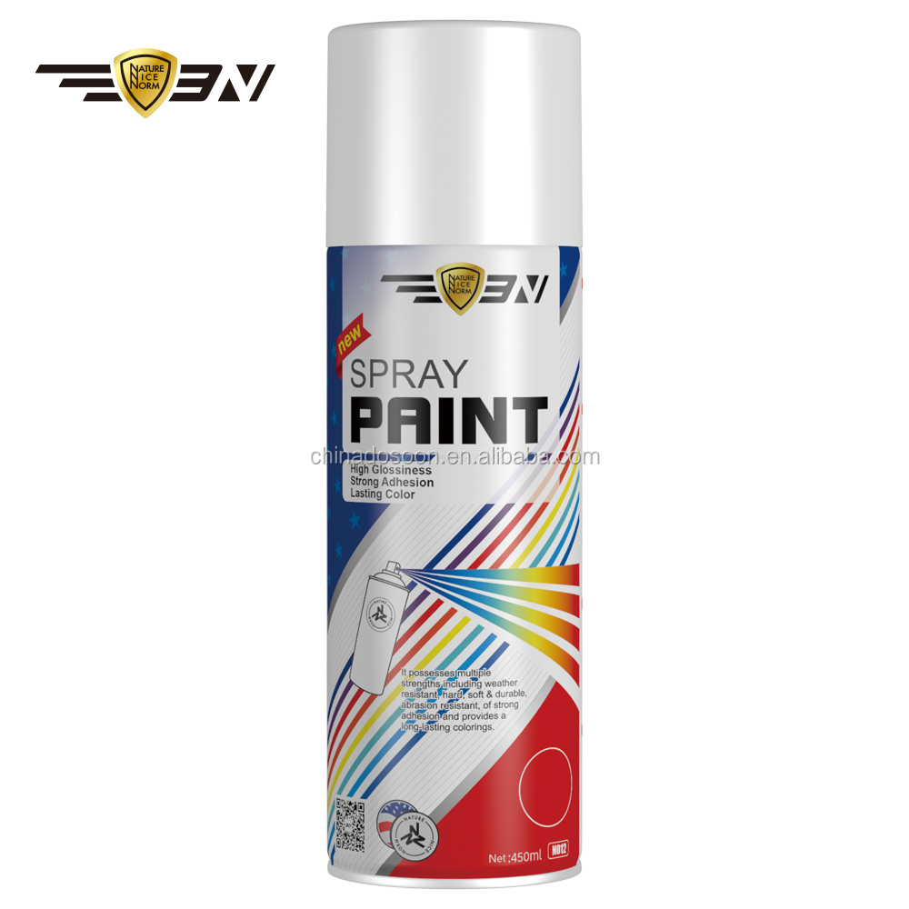 Fast dry wholesale aerosol spray paint for cars, metal and plastic