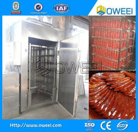 China electric meat sausage bacon professional sausage smoking oven