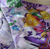 Custom Printed Silk Twill Digital Print Silk Fabric