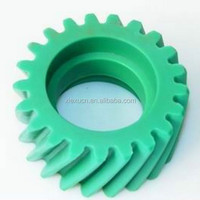 High precision plastic helical gear , nylon pinion helical bevel gear