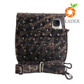 100% Real Leather Handbags Handbags Genuine Leather DSLR Camera bag