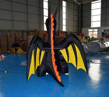 Halloween Western Led light giant Inflatable dragon