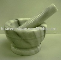 Marble Mortar and Pestle (MT025)