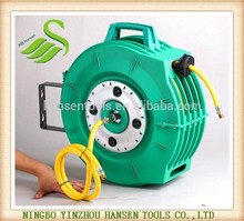3/8 automatic retracbale compressed air hose reel for 4S shop