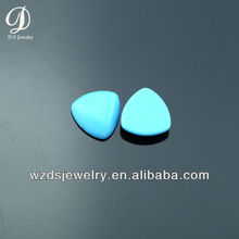 Wholesale synthetic gemstone cabochon turquoise