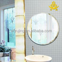 3mm bright wall mirror sheets for home decoration
