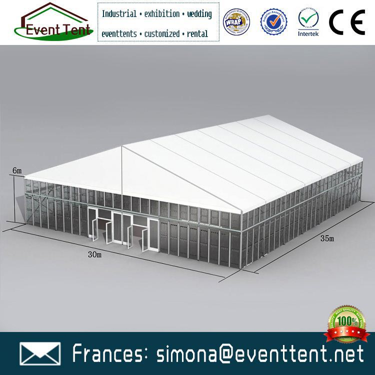 Factory price event tent, cheap advertising ez up tent pvc exhibition tents with Aluminum pole