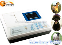 Veterinary ECG Digital Portable ECG/EKG Machine 3-channel 12 lead