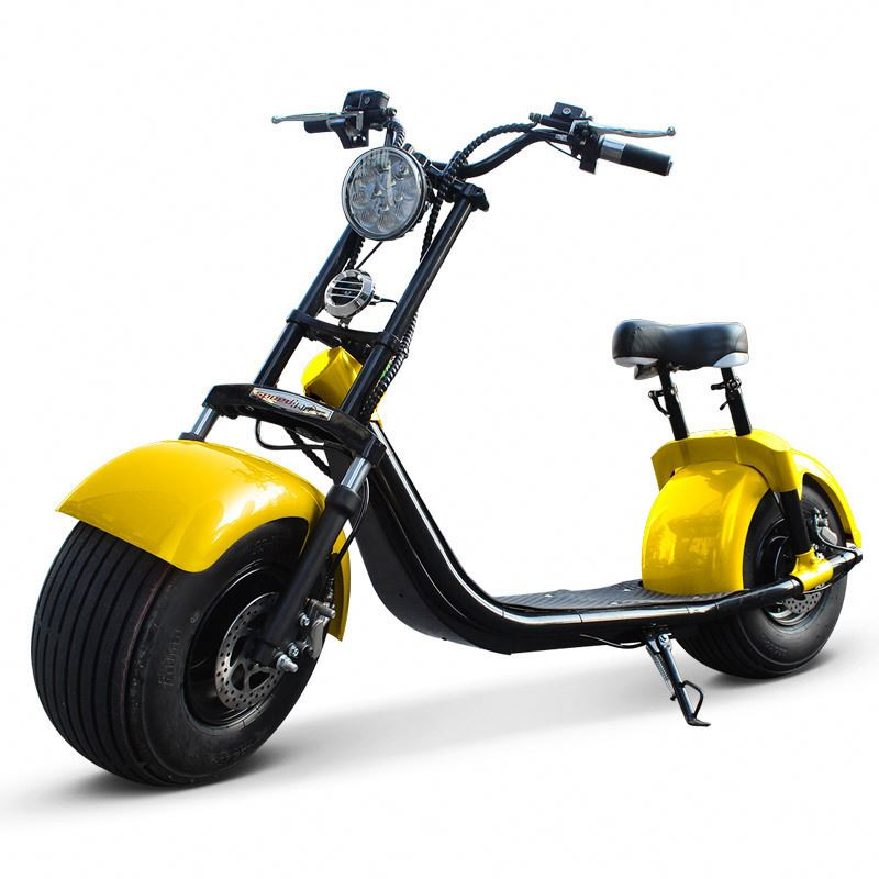Electric ride on scooter for adults