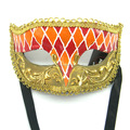 Princess Venice men and women half face lace hollow led mask carnival half face mask