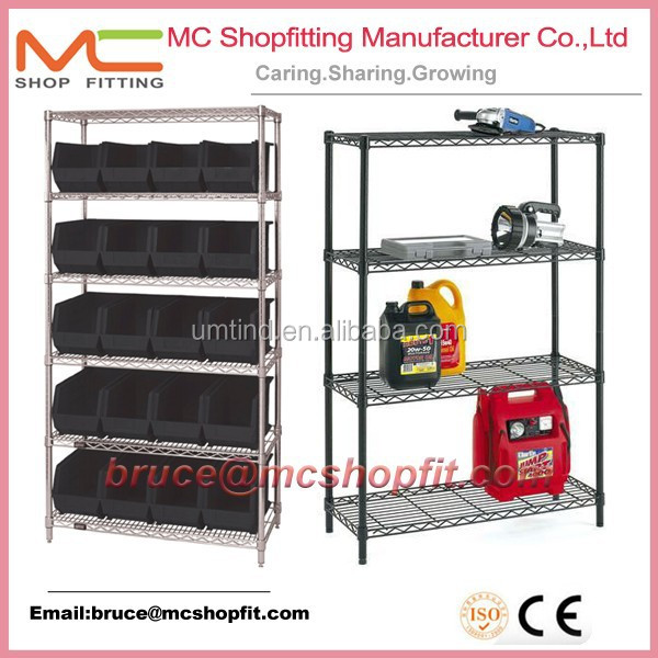 Quantum Storage Wire Shelving System ,used chrome wire shelving,sliding wire shelves