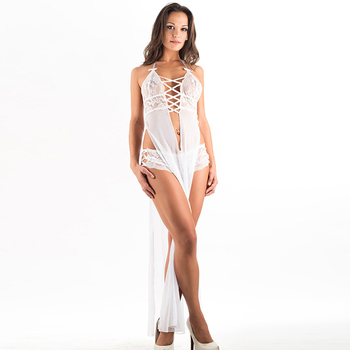 Wholesale See Through Lingerie Sexy Babydoll Hot Transparent Nightwear