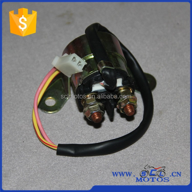 SCL-2013011080 Motorcycle Engine Parts for ZONGSHEN ZS175 Starter Relay