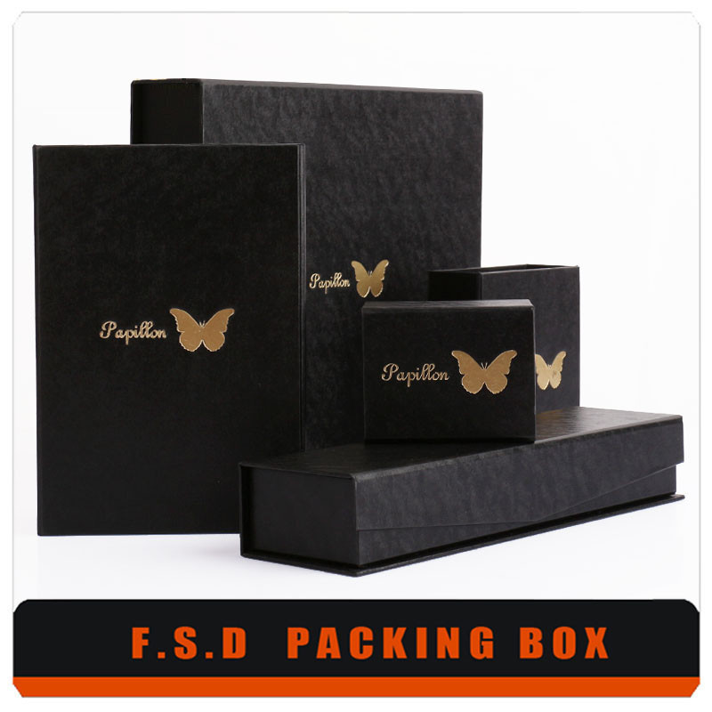 DIY jewerlry products retail tea packaging boxes with window