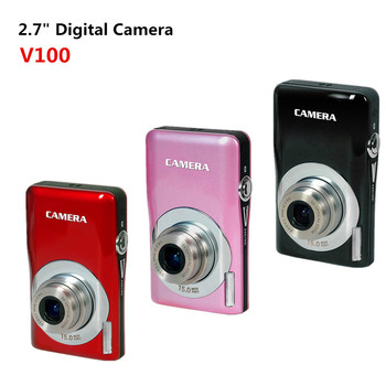 "2.7""15.0MP Digital Camera With 5X Optical Zoom_Zoomer lens_Anti Shake_CMOS Sensor"