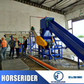 Waste plastic pet washing recycling machine / PET bottles recycling line