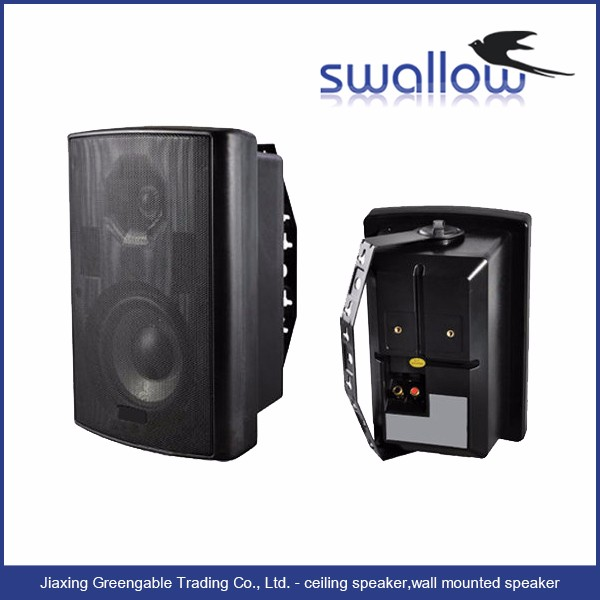 China wholesale professional audio slim on wall speakers
