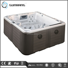 Sunrans Whirlpool Outdoor Wooden Freestanding Bathtubs