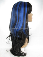 HW5008 the wig factory hatsune miku cosplay synthetic hair wig
