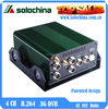 4Ch 360 degree full view 3G & GPS Car Mobile DVR for bus/taxi/coach/truck