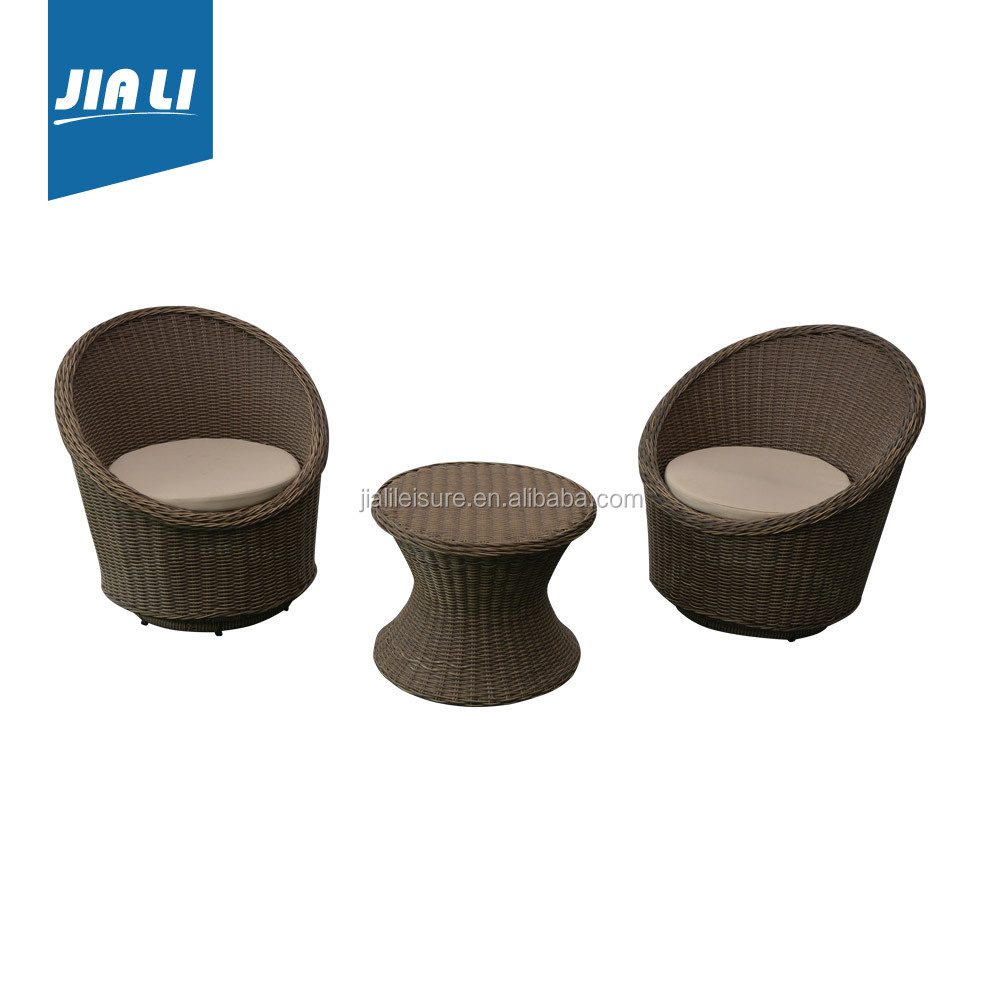 The best choice factory directly cheap bistro 3pc set oval sofa