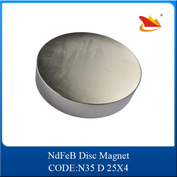 CE/ISO9001/TS16949 Certificated Disc Neodymium Magnet N52 50x30