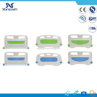 Adjustable bed side rail/guardrail for hospital