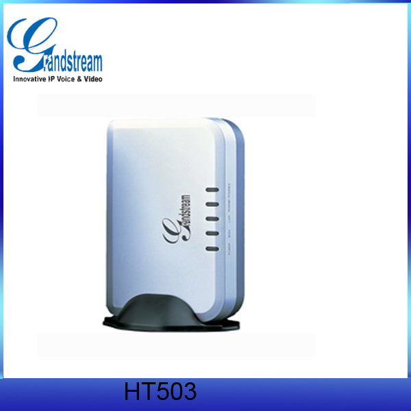China supplier Grandstream HT503 VOIP Phone Adapter