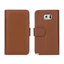 NT5002 Leather Phone Case For Samsung Galaxy Note 5 , Multifunction Wallet Flip Case for Galaxy Note 5