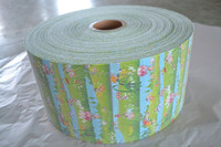 Knit loop mesh hook frontal tape for diaper