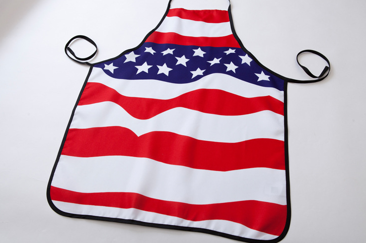 Promotion cotton kitchen apron from China,Sedex Audit factory