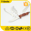 Stainless steel multi tool Wood handle knife