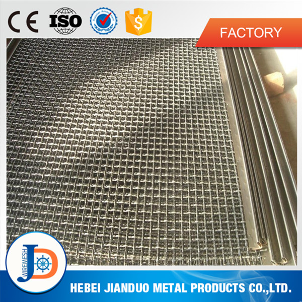 china factory high manganese steel crimped wire mesh for quarry and mining for sale