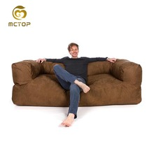 Wholesale high quality cheap price bean bag sectional sofa