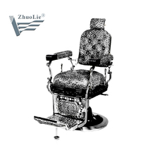 Luxury heavy duty Man antique barber chair for man barber shop (A151109)