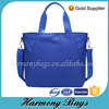 Hot Sale OEM Fashion blank blue custom design tote bag