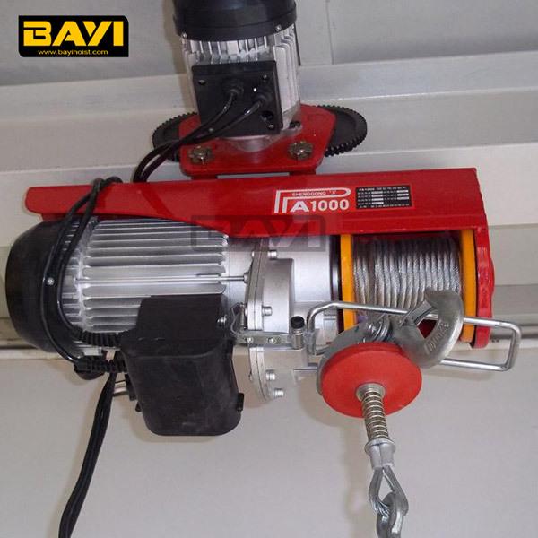 Wire Rope Lifting Equipmentelectric Motor Mini Hoist Capacity 250kg Buy Mini Electric Hoist