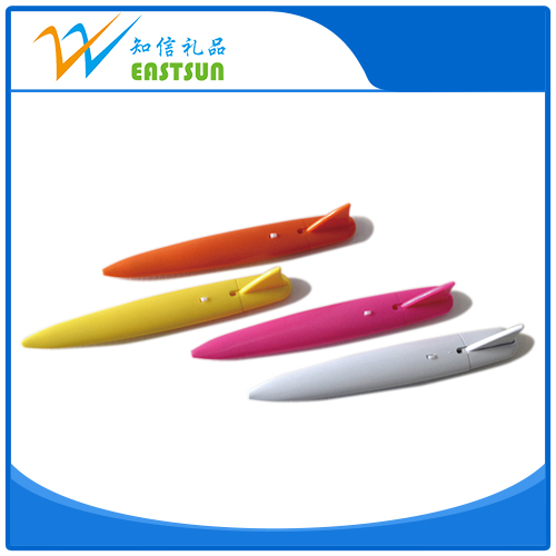 Cute shape Customize cheap ballpoint pen refill roller ball pen