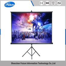 6x6 tripod floor standing projector screen