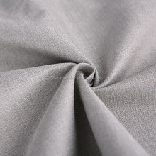 Linen Like Thermal Insulated 3 Pass Acrylic Coating Blackout Fabric for Curtain and Drape
