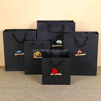 craft paper bag for World's three major clothing brand
