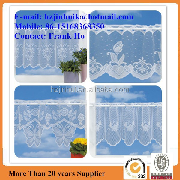 CHOICE OF 4 FINEST VALUE PREMIUM QUALITY LACE CAFE NET CURTAINS