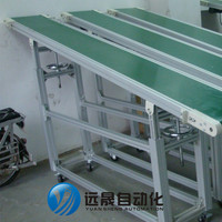 material handling conveyor line small belt conveyor