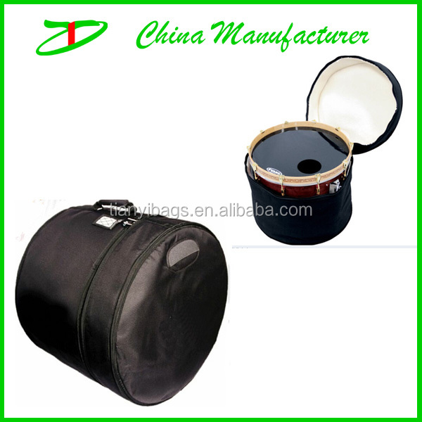 2014 direct factory offer polyester material drum bag