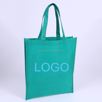 2017 hot sale foldable pp laminated non woven shopping bag colorful printed Promotional Custom non woven bag