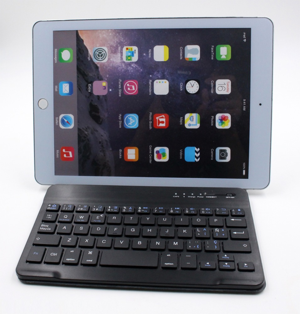 high quality mechanical keyboard Portable Bluetooth Keyboard Case Cover For Apple iPad 4